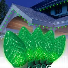 Holiday Time Cool White Led C9 Lights 100 Count 100 Holiday Time Led Super Bright Cool White Led C9