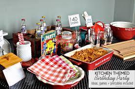 40 Bites Kitchen Themed Birthday Party