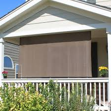 details about rolldown shade sun roll down hanging porch deck up blackout window outdoor patio