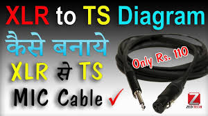 how to make xlr jack to ts pin cable wire 🗣 for mic joining in how to make xlr jack to ts pin cable wire 🗣 for mic joining in amplifier 🎙 अब बनाये घरपर mic wire