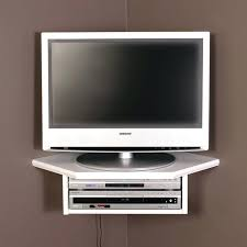 tv wall stand with shelves creative connectors corner floating wall shelf white corner mount with shelf