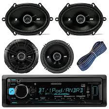 best ideas about kicker car audio kenwood car kenwood kmmbt315u car stereo receiver bluetooth usb aux am fm bundle kit 2 kicker