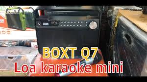 Loa karaoke mini hay nhất ✅ | Loa xách tay du lịch cao cấp | Loa bluetooth cầm  tay giá rẻ BOXT 101 - YouTube