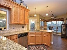 Small Picture Pretentious Design Kitchen Colors With Oak Cabinets Best 25 Honey