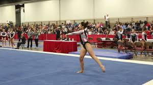 Julia Wiest - Floor Exercise - 2016 Women's Junior Olympic Championships -  YouTube