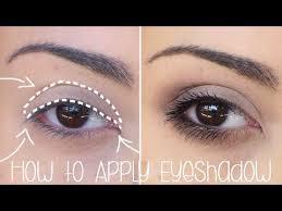 how to apply eyeshadow for beginners simple tutorial