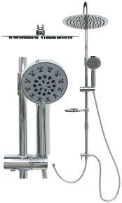 Duschset Duschsystem Duschstange Regendusche Variable Halter Pg2226 10r