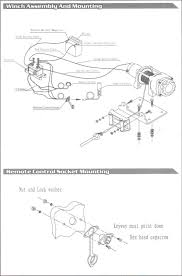 simple winch wiring diagram simple wiring diagrams cars