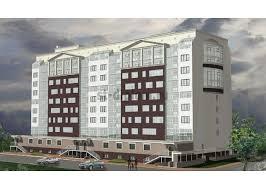 Диплом ПГС готовые дипломные работы по строительству проекты ПГС 9 этажный жилой дом с административными помещениями и магазином в г Калуга