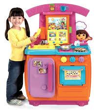 Đồ chơi Kệ bếp Fisher-Price Dora Fiesta Favorites Kitchen nhập khẩu 100% từ  Mỹ