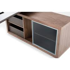 modern office storage. modrest lincoln modern office desk and side storage cabinet by vig furniture l
