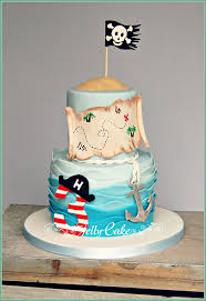 Pirate Birthday Cake This Is The Cake For My Gorgeous Neph Flickr