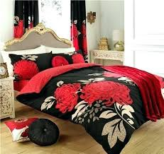 red black duvet covers double bed black red duvet covers black double duvet cover elegant black