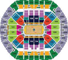 Oakland Warriors Seating Chart Warriors Seating Chart 3d