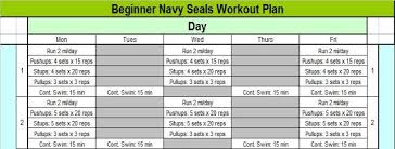 Workouts Navy Seal Workouts