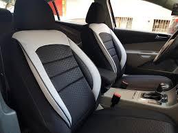 car seat covers protectors honda accord ix limousine black white v10 front seats