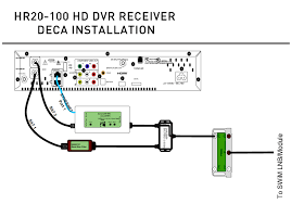 installing the deca1mro 01 fir whole house dvr at t community