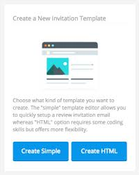Create Your Invitation How To Create Your Customised Review Invitation Email Template