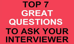 Good Questions To Ask Interview Top 7 Great Questions To Ask Your Interviewer Launchbox365