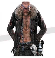 dead rising 3 biker boss gang motorcycle fur jacket