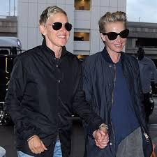 Ellen And Portia Ellen Degeneres And Portia De Rossi In La July 2016 Popsugar