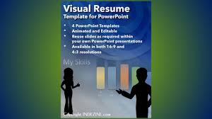 Visual Resume Template For Powerpoint Youtube Templates Free