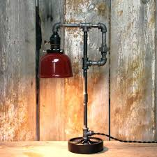 industrial style table lamps medium size of for trendy black lamp bedside t30
