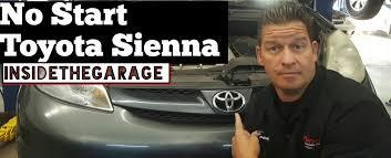 My Toyota Sienna Won't Start - YouTube