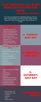 Whats The Best 3 Days Week Gym Workout Plan Quora