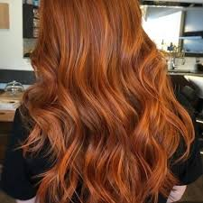 Red Hair Weave Color Chart Copper Red Color Laflare Co