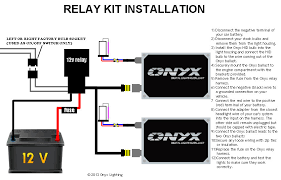 relay hid conversion kit installation guide single filament call us toll 888 293 9696