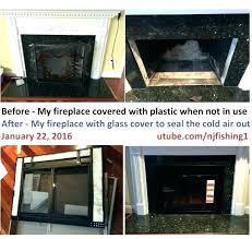 wood burning fireplace glass doors inserts stoves without blower