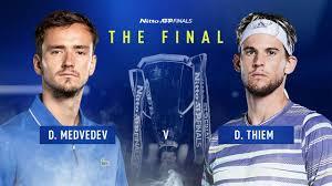 Medvedev beats Nadal to set up Thiem title match at ATP Finals