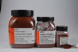 Orasol Dye Color Chart Solvent Orange 11 Solvent Dye Synthetic Dyes Solvent