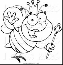fabulous printable bumble bee coloring page with bumblebee ...