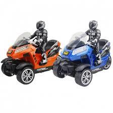<b>Радиоуправляемый мотоцикл Yuan Di</b> Трицикл YD898-T55 1:10 ...