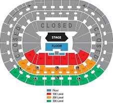 Portland Memorial Coliseum Detailed Seating Chart Seating Chart Rose Quarter