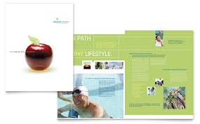 Brochure Templates In Word Adorable Healthcare Management Brochure Template Word Publisher