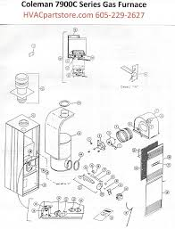 7970c856 coleman gas furnace parts tagged \