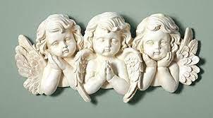 wall art plaques angel statues sculpture