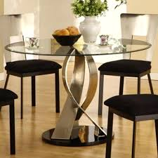 enchanting round glass dining table set best glass dining table set ideas only on glass regarding
