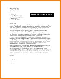11 Teacher Resume Cover Letter Job Apply Form