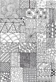 Pattern Drawing Delectable Zentangle Sampler Art Pinterest Doodles Zentangles And Tangled