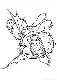 How To Train Your Dragon Coloring Pages 5 Craft Ideas Pinterest
