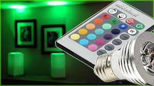What Are The Colors Of Led Lights Led Lights Magic Lighting Led Light Bulb Controlled W Remote With 16 Different Colors And 5 Modes