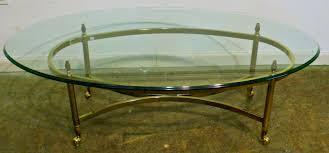 oval glass coffee table top writehookstudiocom