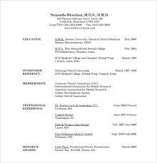 Cv Template Physician Advmobile Info