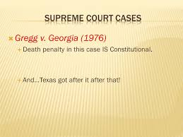 eliseo lugo iii  prohibits cruel unusual punishment  text   1976  death penalty in this case is constitutional