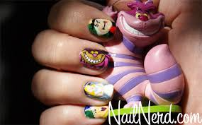 nail art nail nerd for nards who drew cartoon characters games s etc monster cat makeover