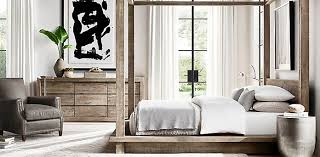 restoration hardware bedroom. Reclaimed Russian Oak Collection Restoration Hardware Bedroom A